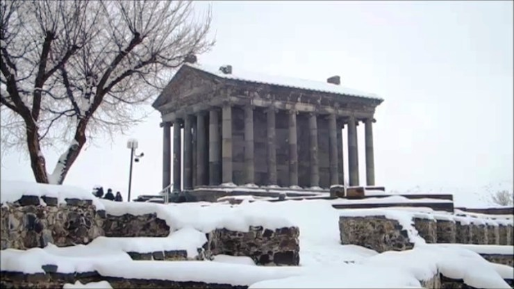 Grani pagan temple Armenia