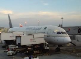 Pengalaman Terbang dengan Saudi Arabia Airlines