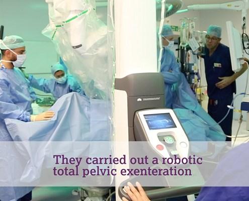 Groundbreaking Surgery at the Royal Marsden