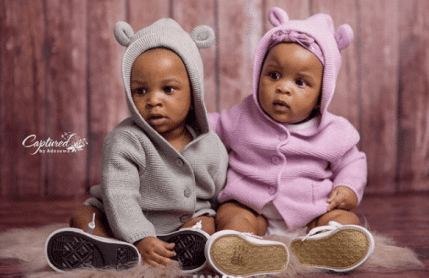 paul okoye's six month old twins