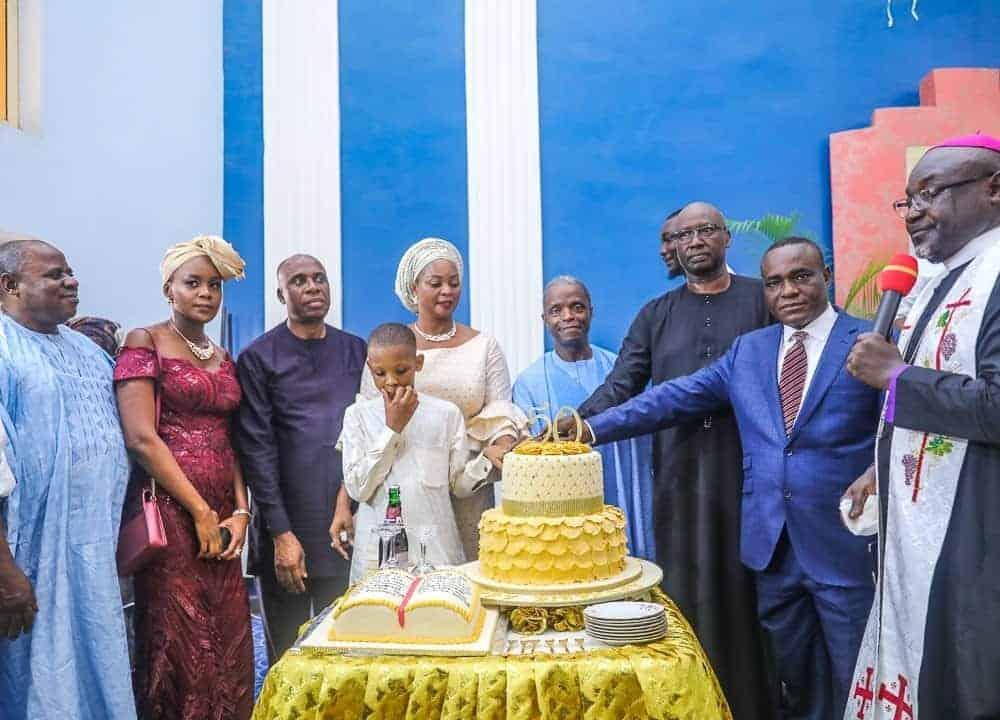 Osinbajo, Amaechi, Gida Mustapha, Others At Senator Binta Garba's Birthday Thanksgiving