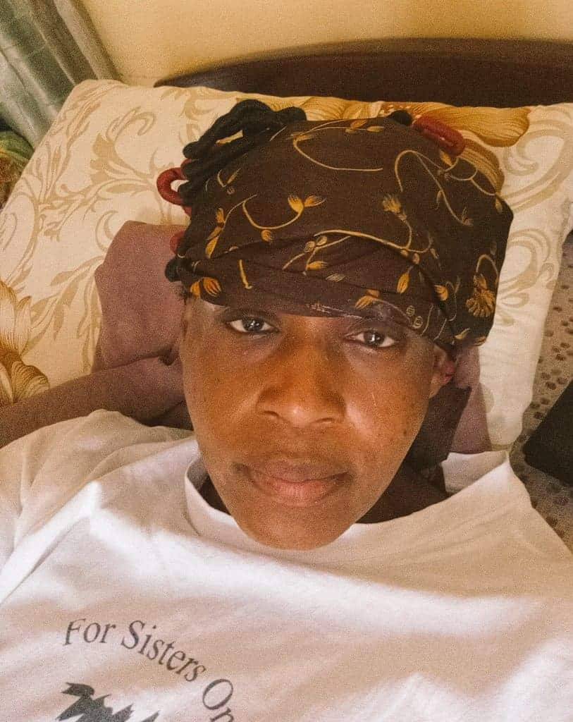 Kemi Olunloyo survives after being struck by thunder