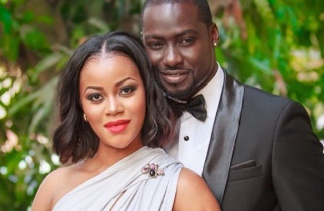 Damilola Adegbite and Chris Attoh won't stop showing each other love even after divorce