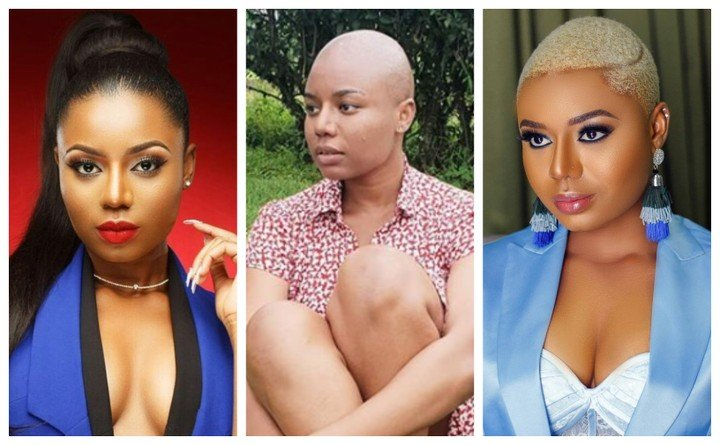Nancy Isime shaves off her hair for a movie role with Jim Iyke