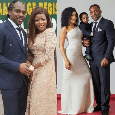 Laura Ikeji Explains her Photo-shopped court Wedding Photo