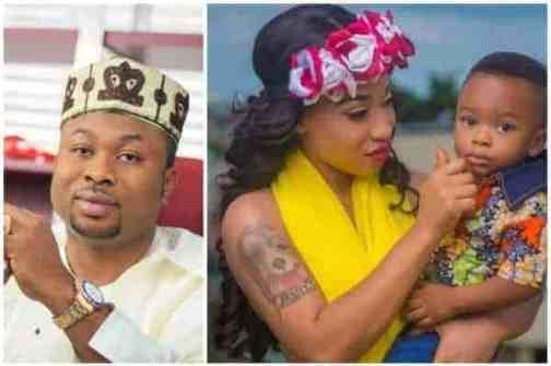 Image result for Churchill Silent on Tonto Dike's allegations, praises Tiwa Savage instead