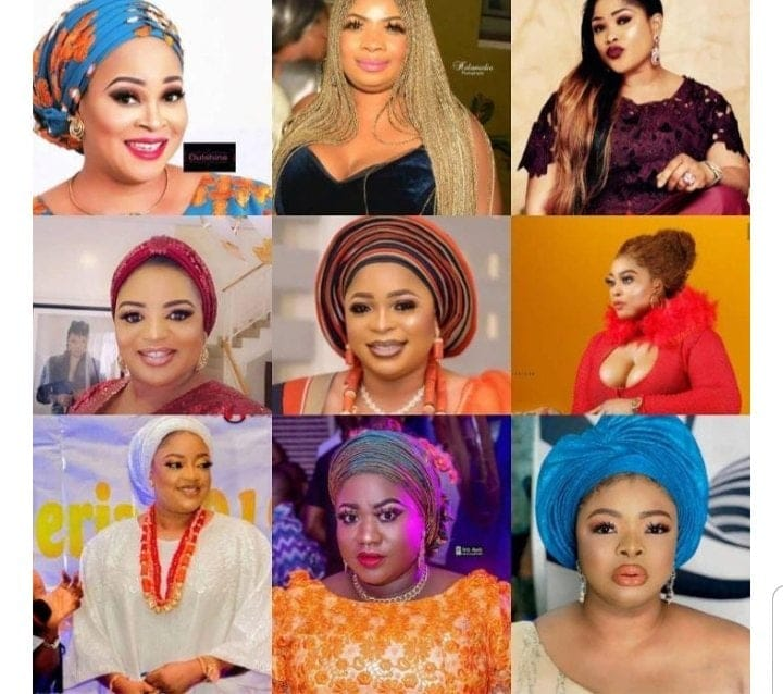 Image result for Bukky Wright, Dayo Amusa and 7 other actresses that have dated and fought to be Kwam 1's main chic