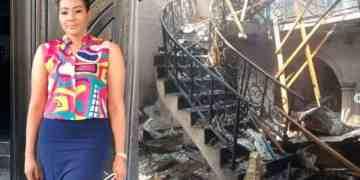 Nkiru Umeh slams government for not compensating them for Abule Ado gas fire - Kemi Filani