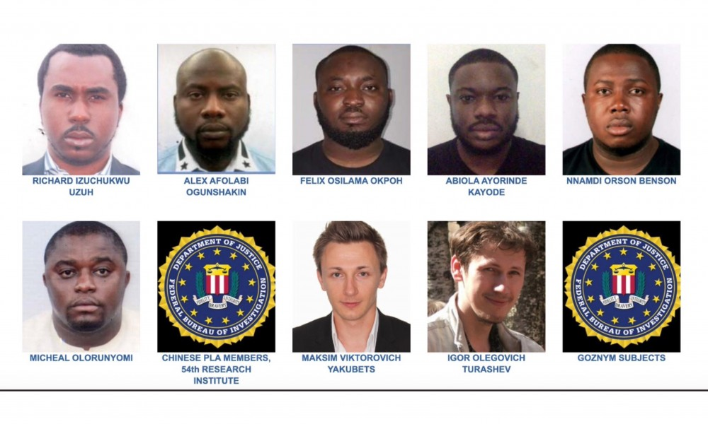 Nigerians attack FBI for listing 6 Nigerians among most wanted criminals - Kemi Filani