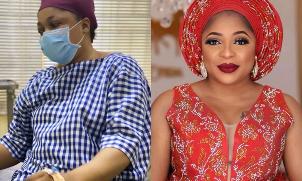 'You shall loose everything you ever cherished in life' - Actress, Kemi Afolabi cries out from hospital bed - Kemi Filani