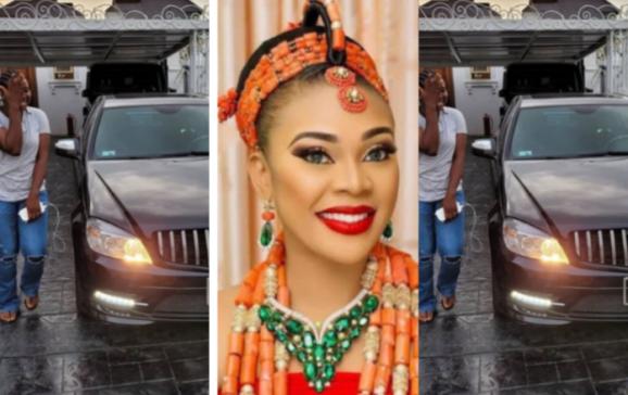 Ehi Ogbebor gifts pa car