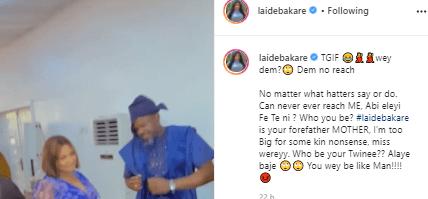 Laide Bakare's post to Kemi Afolabi