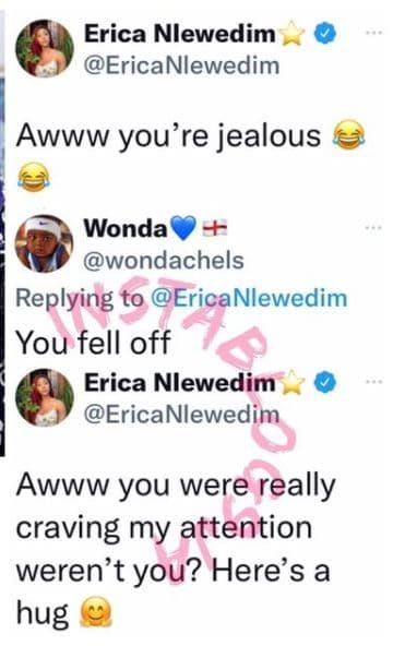 Erica and troll
