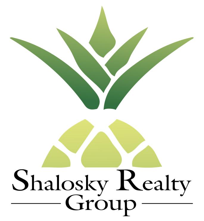 Shalosky Realty Group Logo, Realtor Logo, Real Estate logo, Pineapple logo, designed by Kemp Design Services