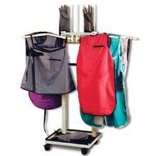 Apron and Glove Racks