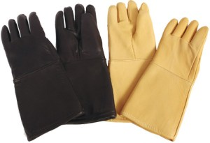 Lead Radiation Protection Gloves - Leather