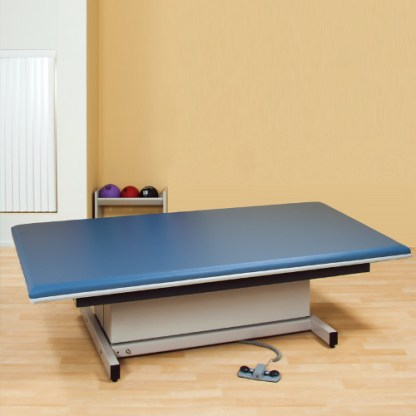 Physical Therapy Hi-Lo Mat Platform with Upholstered Top