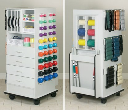 Zues SuperRac Physical Therapy Equipment Rack