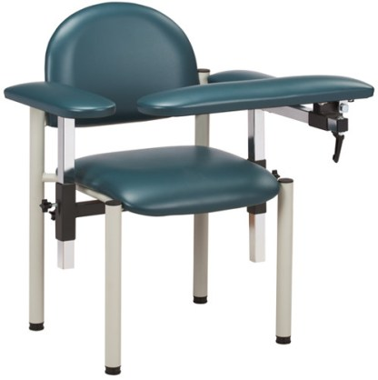 SC Series, Model 6050U Padded Blood Draw Chair with Padded Arms
