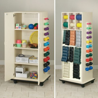 Physical Therapy CabinetRac with Doors
