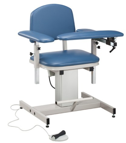 Power Series Blood Draw Chair with Padded Arms