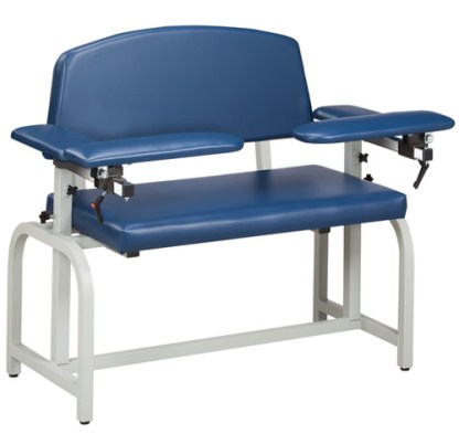 Lab X Series Extra Wide Blood Draw Chair