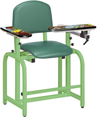 Pediatric Series - Spring Garden Blood Drawing Chair