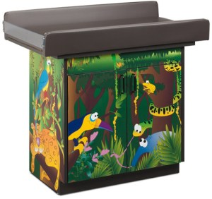 Rainforest Follies Infant Blood Drawing Station with 2 Doors