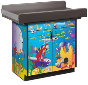 Ocean Commotion Infant Blood Drawing Station with 2 Doors