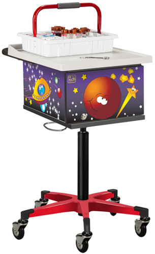 Pediatric Space Place Phlebotomy Cart
