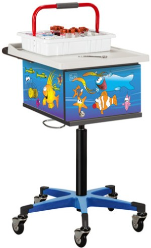 Pediatric Ocean Commotion Phlebotomy Cart