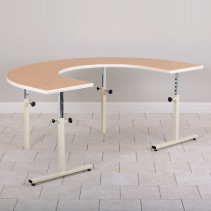 U-Shaped Physical Therapy Table