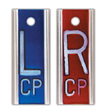 "R & L 1"" X-ray Film Markers"