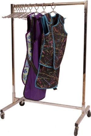 Shielding Valet X-ray Apron Rack