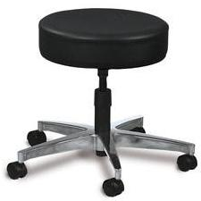 Screw Adjustable Seat Stool - 5 leg