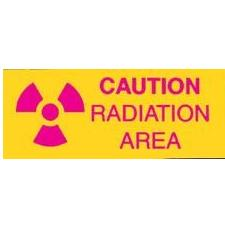 Caution: Radiation Area Sign
