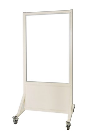 Mobile Leaded Barrier 30 in. x 48 in. Window