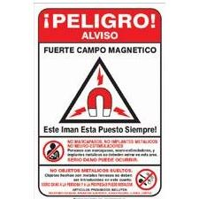 MRI Sign Restricted Access (Spanish)