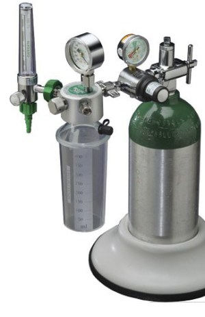 MRI Non-Magnetic Du-O-Vac Plus w/ Regulator & Flowmeter Suction