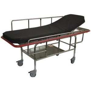 MRI Non-Magnetic Fixed Bariatric Stretcher 600 lb. Capacity