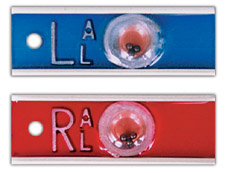 "R & L Elite Style 1/2"" Positional X-ray Markers"