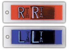 "R & L 1/2"" Identifier Style Copper Filtered X-ray Markers"