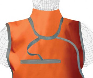 Attached Mid-Binding Thyroid Collar