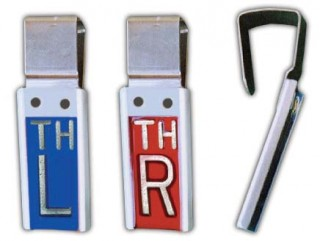 R & L Elite Personalized Single Clipper X-ray Markers