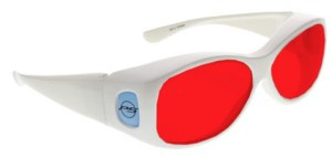 Model 33W Fitover Forensic Glasses