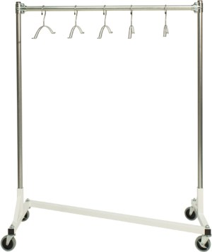 Kemper Medical Signature Mobile Z  Rack - X-ray Apron Rack