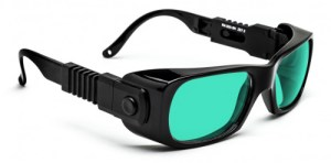 Ruby Laser Safety Glasses - Model #300