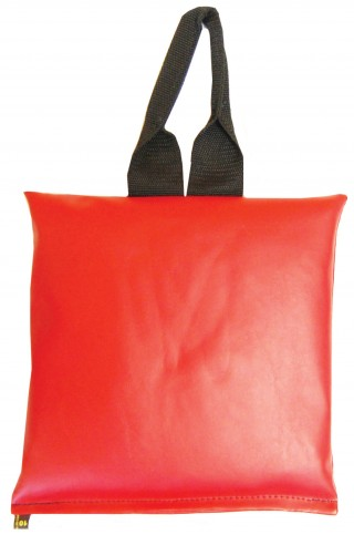 "Patient Positioning Sandbag 10 LB - 11"" x 11"" - Red"