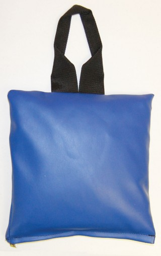 "Patient Positioning Sandbag 10 LB - 11"" x 11"" - Blue"