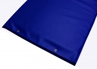 Table Pad with Reinforced Vinyl - Blue